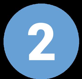 icona con numero due