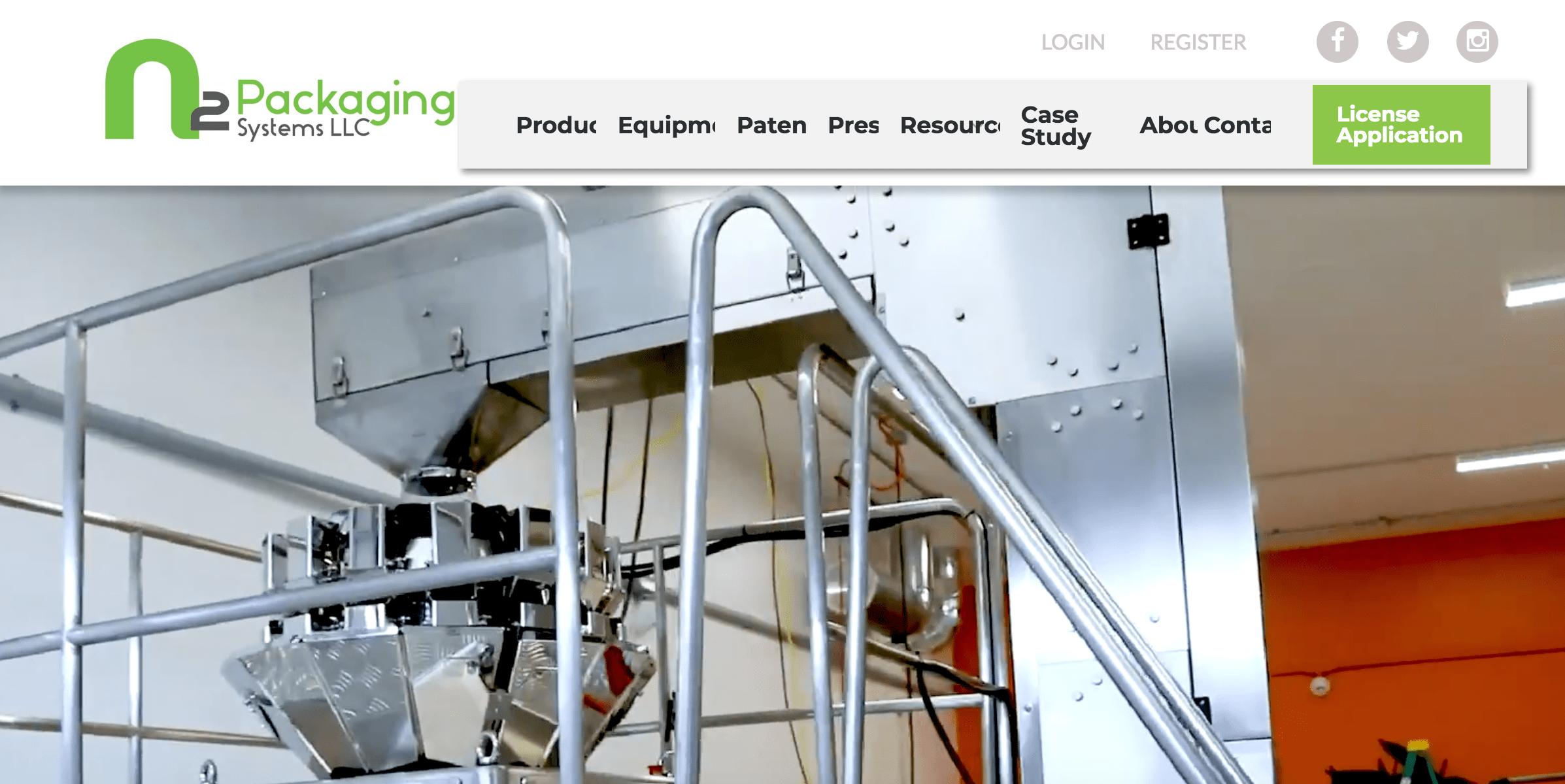 N2 Packaging website