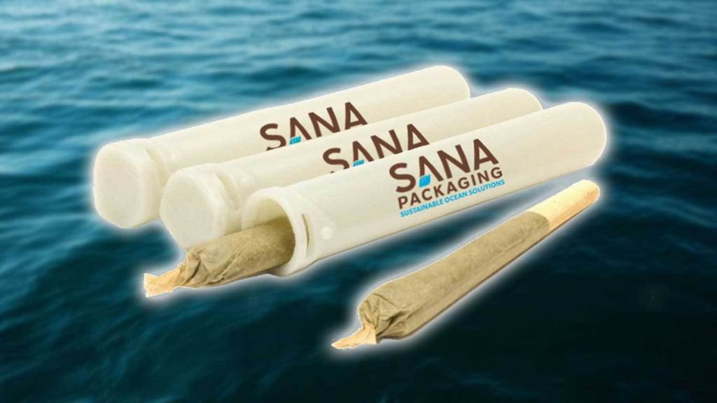 Sana cannabis packaging