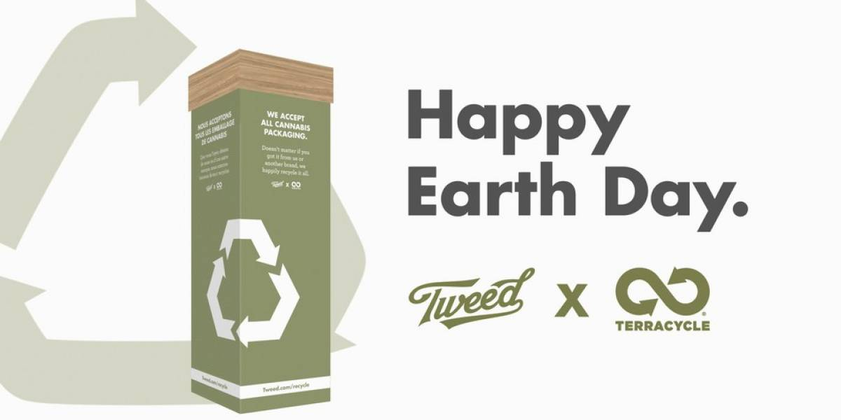 Tweed's recycling program launched Canada-wide on Earth Day.