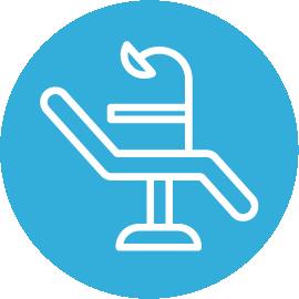 Dental Chair Icon River Harmony Dental