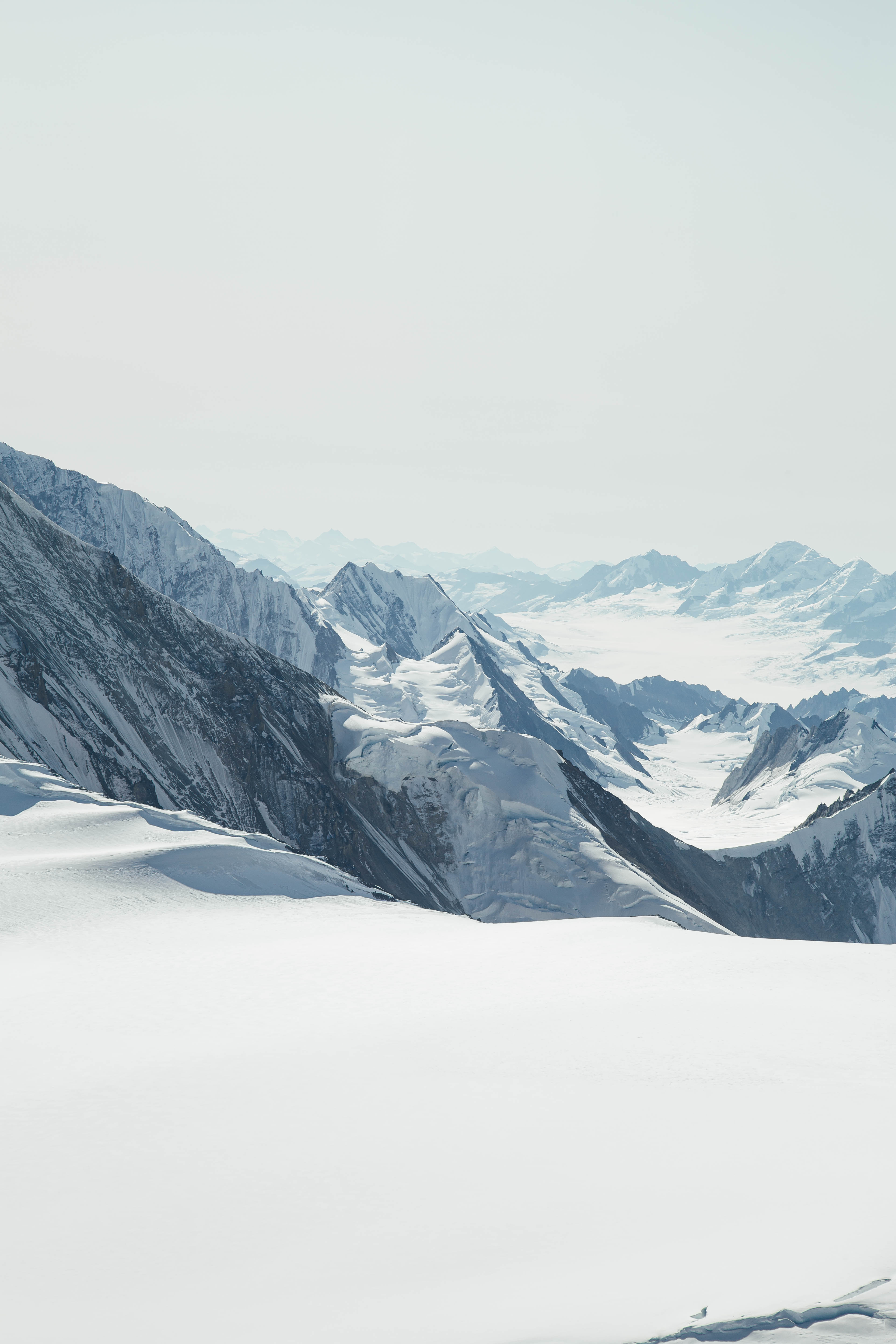 Mountains in Kluane National Park Canada
