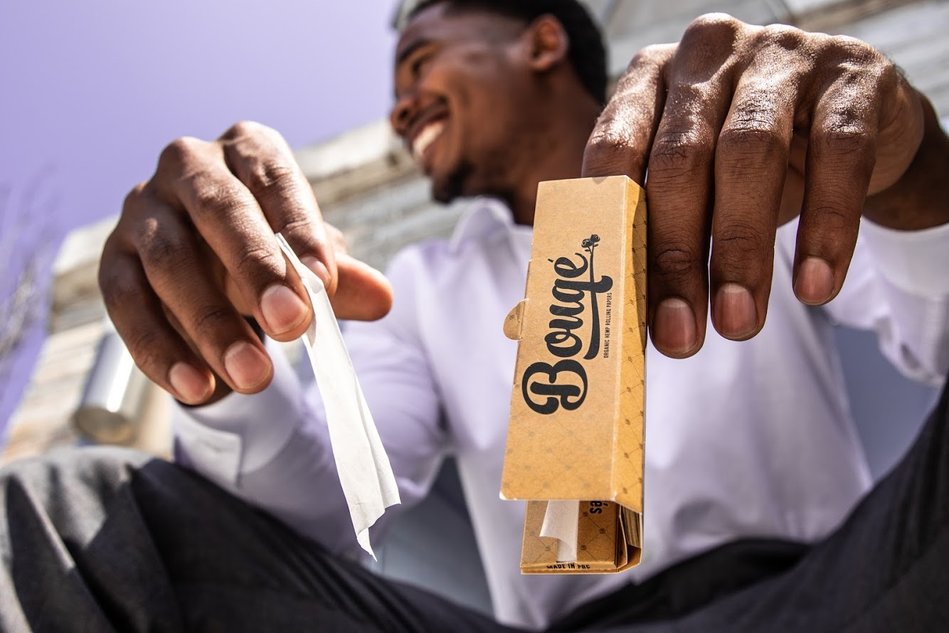 Growing a cannabis business CBD  Bouqé Rolling Papers