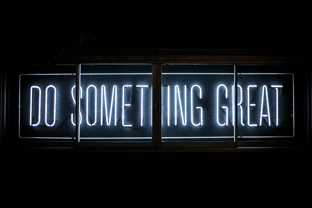 Value proposition: Do something great