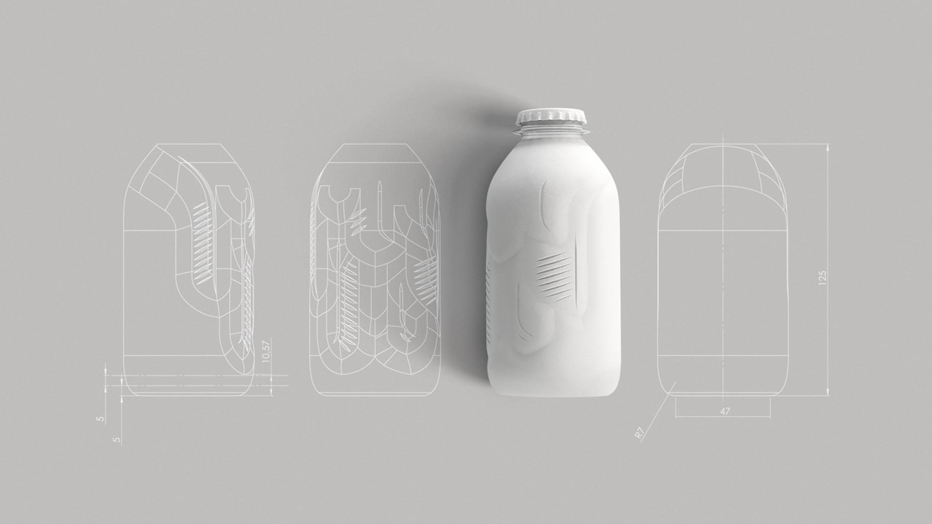Paper bottle schematic