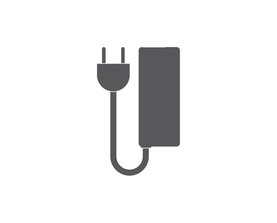Charging unit icon.