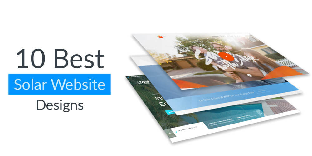 10 Best Solar Website designs