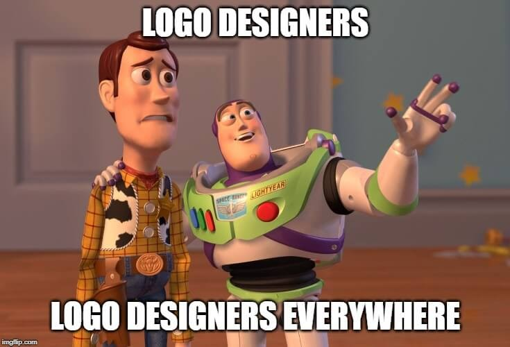 meme - logo designers everywhere
