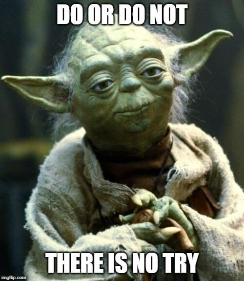 Yoda giving advice