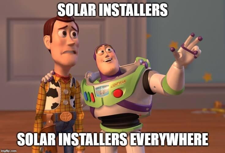 Solar installers everywhere