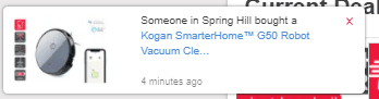 Kogan Social Proof