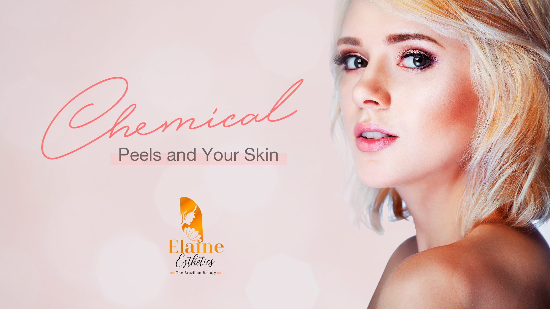 """Chemical peels can improve the skin's appearance. In this treatment, a chemical solution is applied to the skin, which makes it ""blister"" and eventually peel off. The new skin is usually smoother and less wrinkled than the old skin..."""