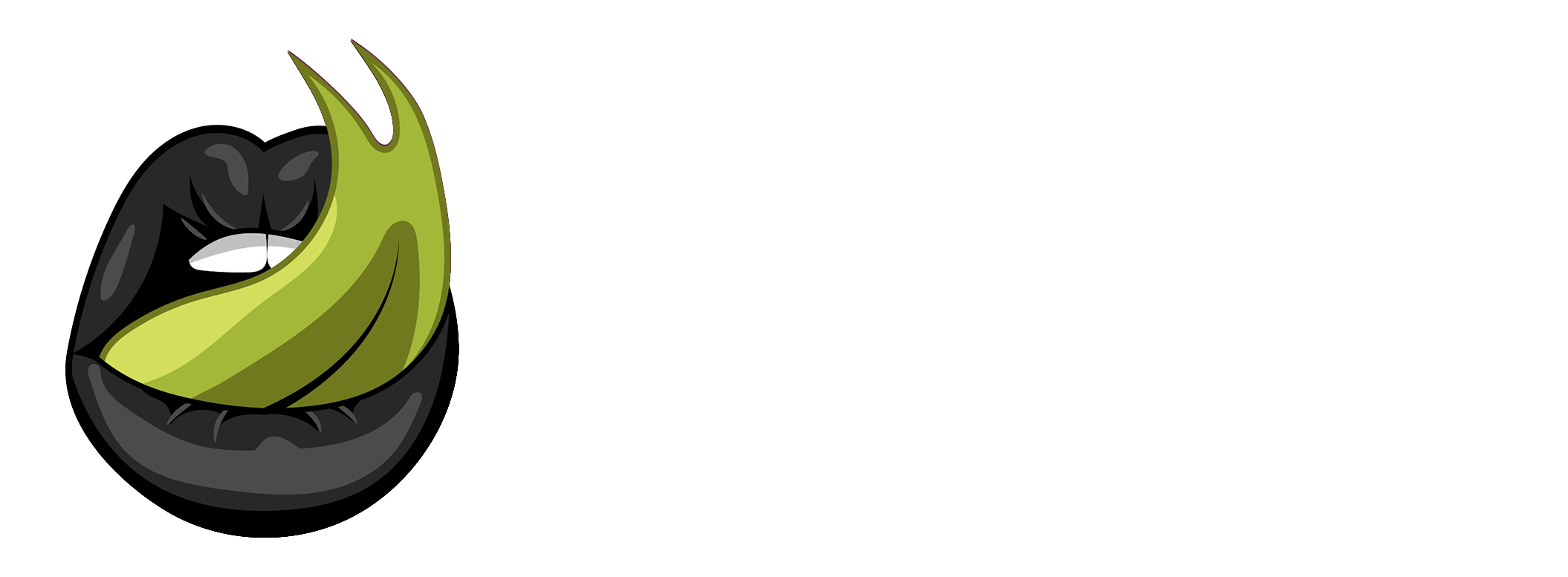 White version of Disobey's logo.