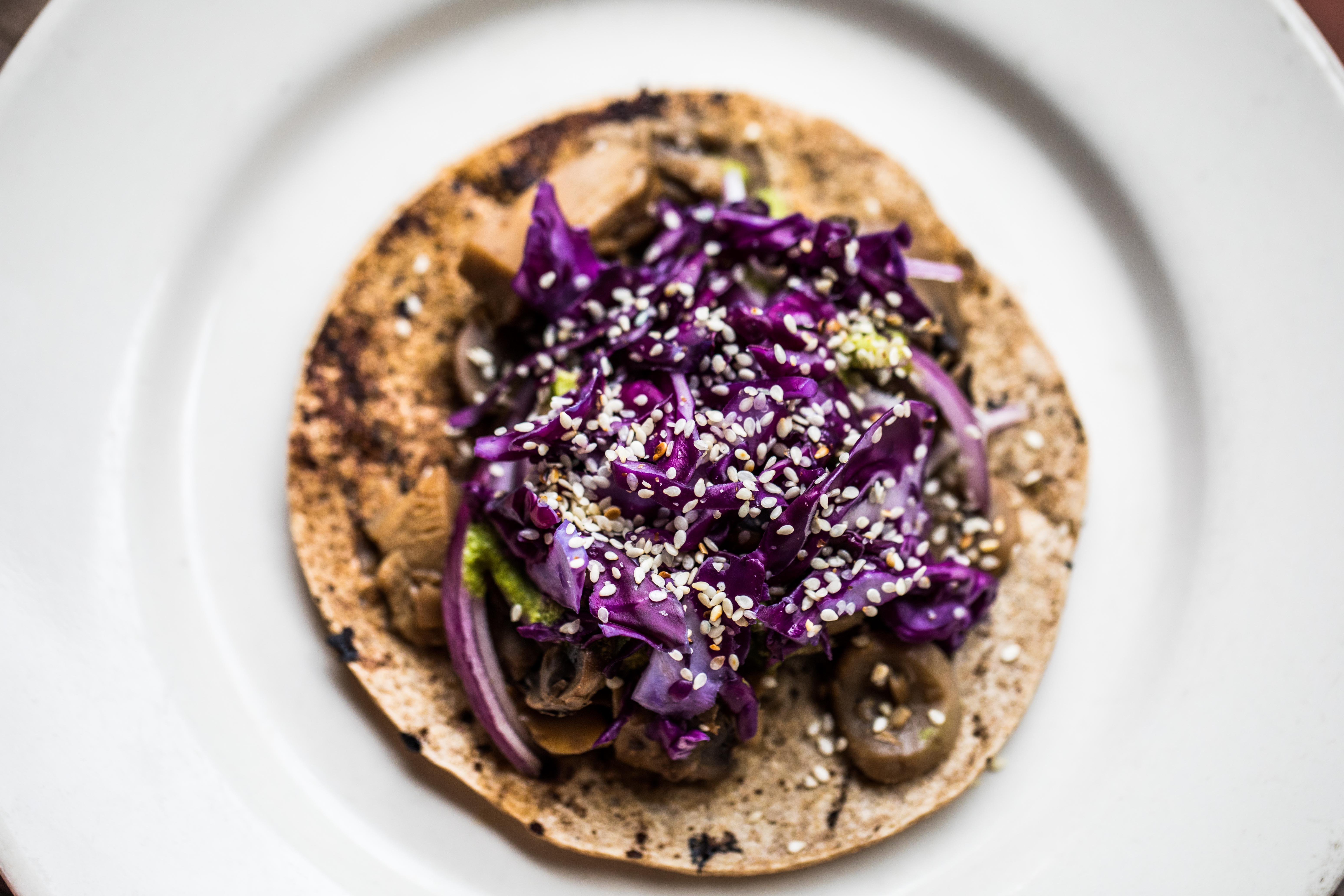 Wild Mushroom Taco