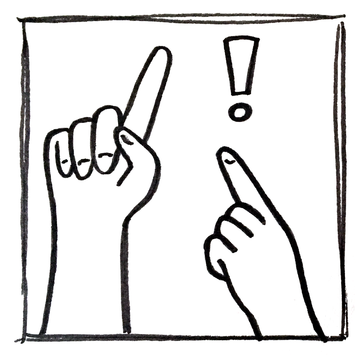 Branding icon with two hands