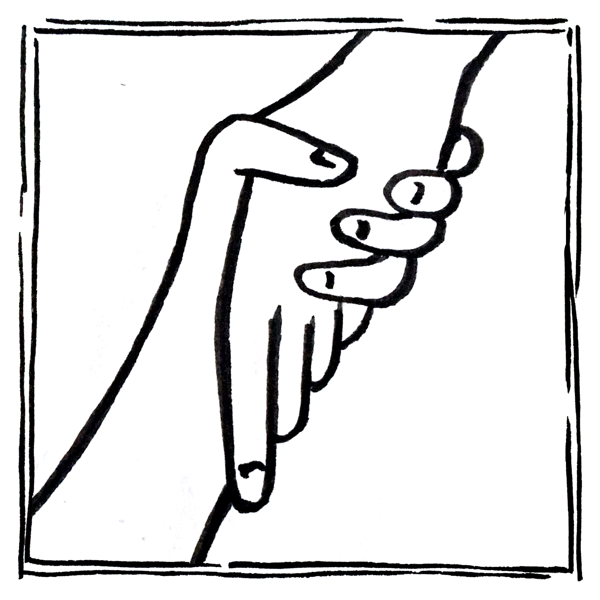 Product design icon shaking hands