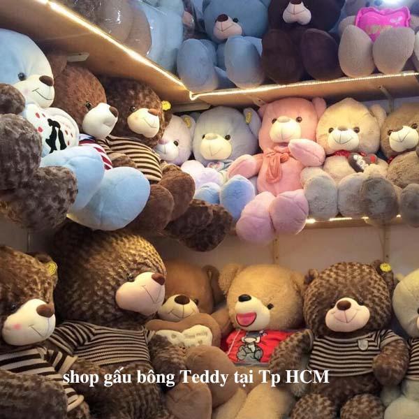 Shop gấu bông teddy Tp HCM