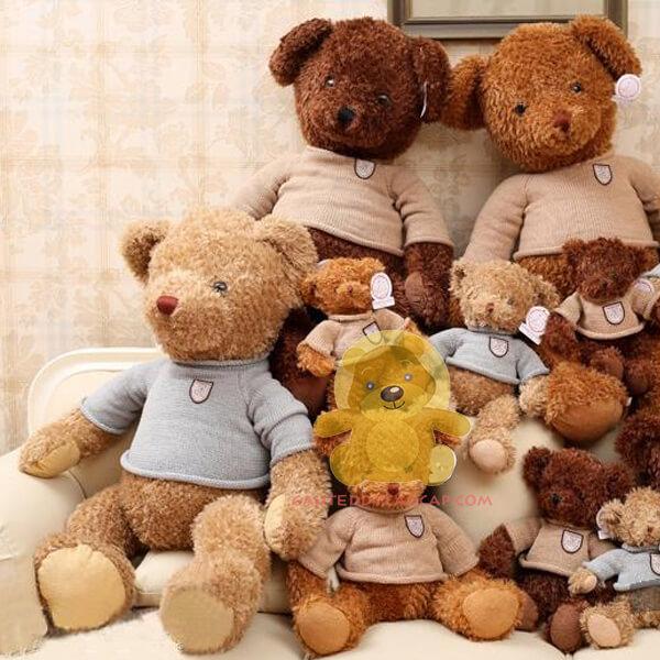 Gấu teddy 1m nỉ thú