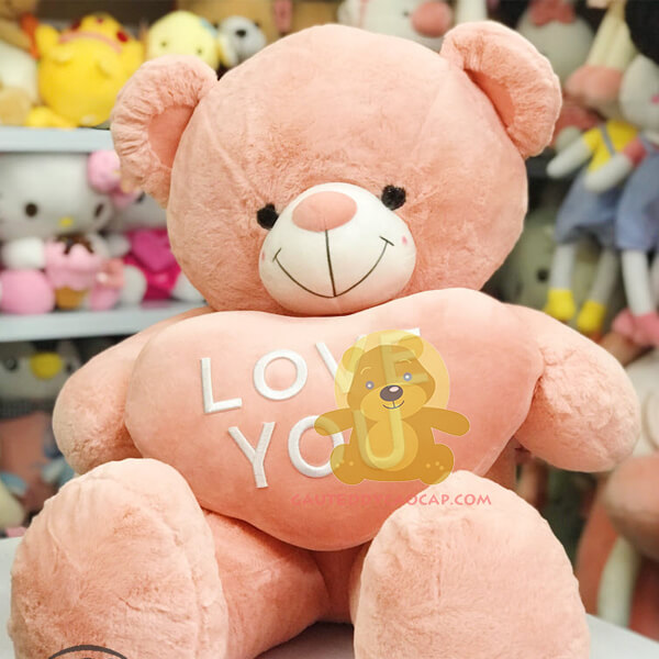 Gấu teddy 1m love you