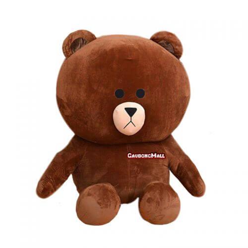gấu brown to bằng người