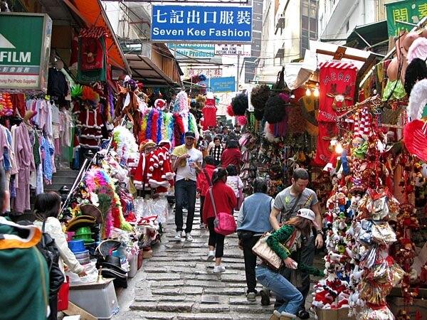 gấu bông tại chợ quảng châu