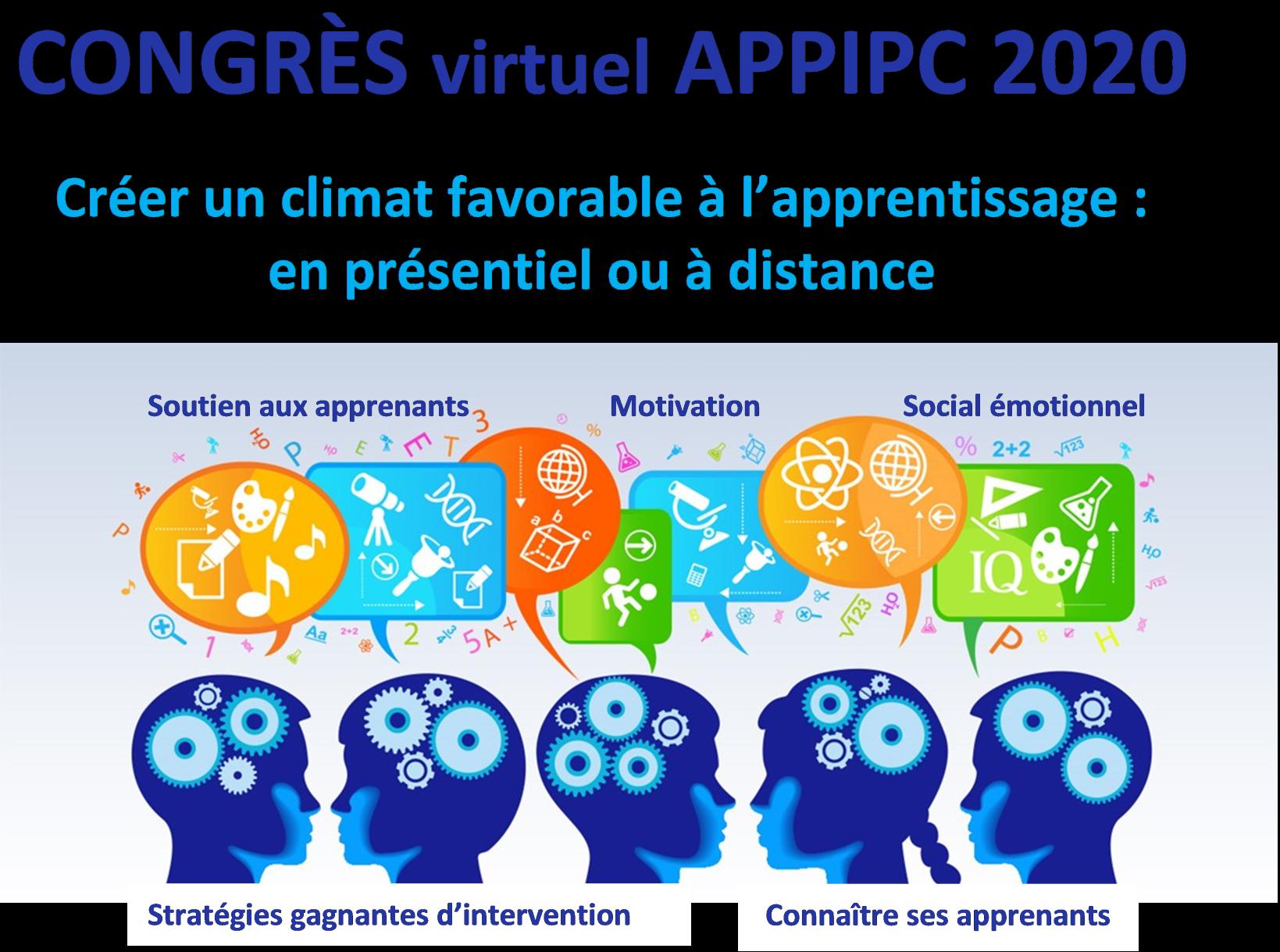 Congrès virtuel APPIPC 2020