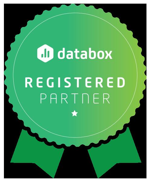 Databox Registered Partner Badge