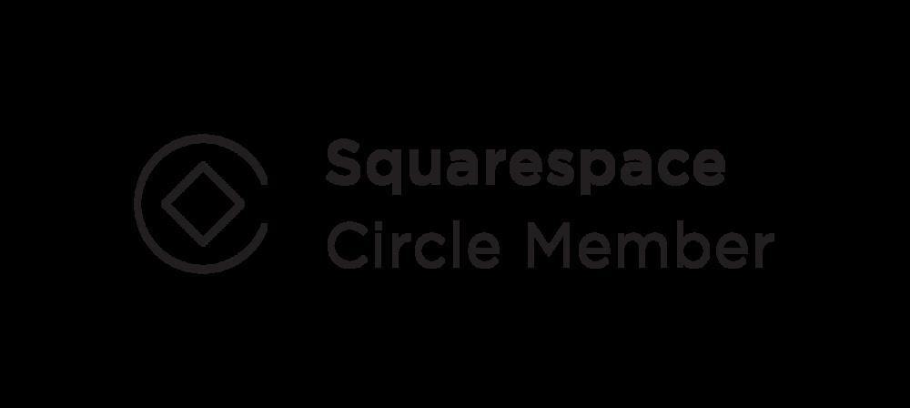 Squarespace Circle Member Badge
