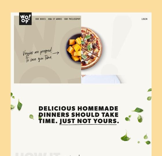 Image of Woop website