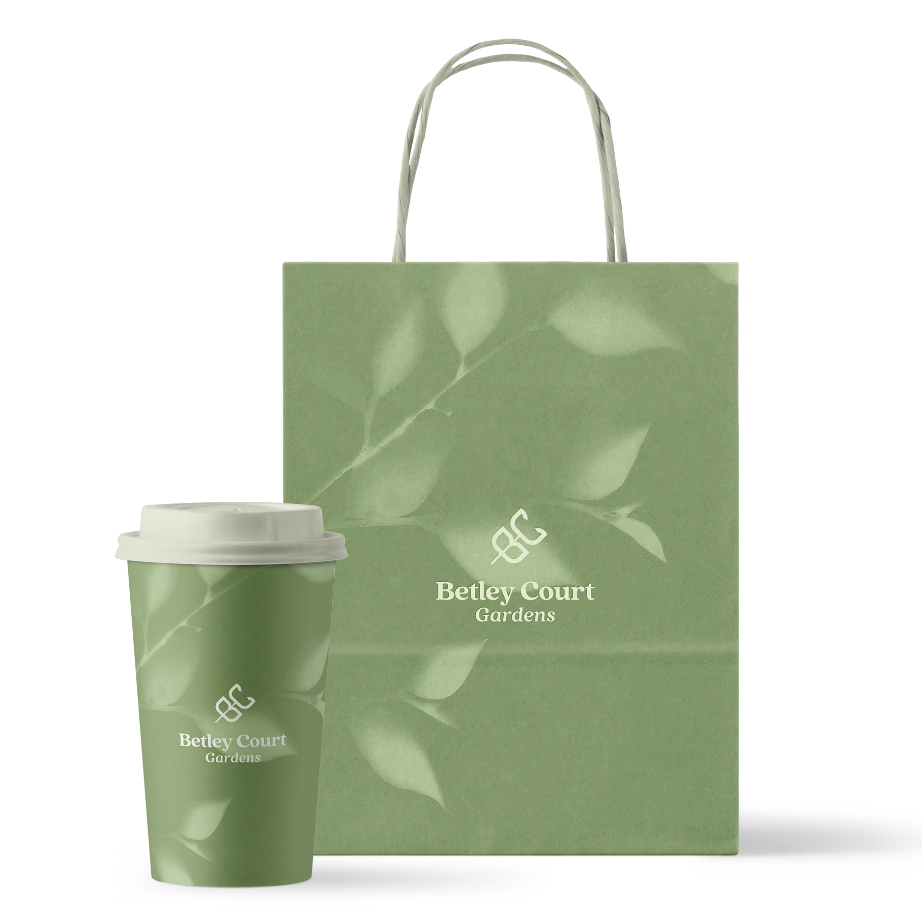Betley Court Bag and Cup
