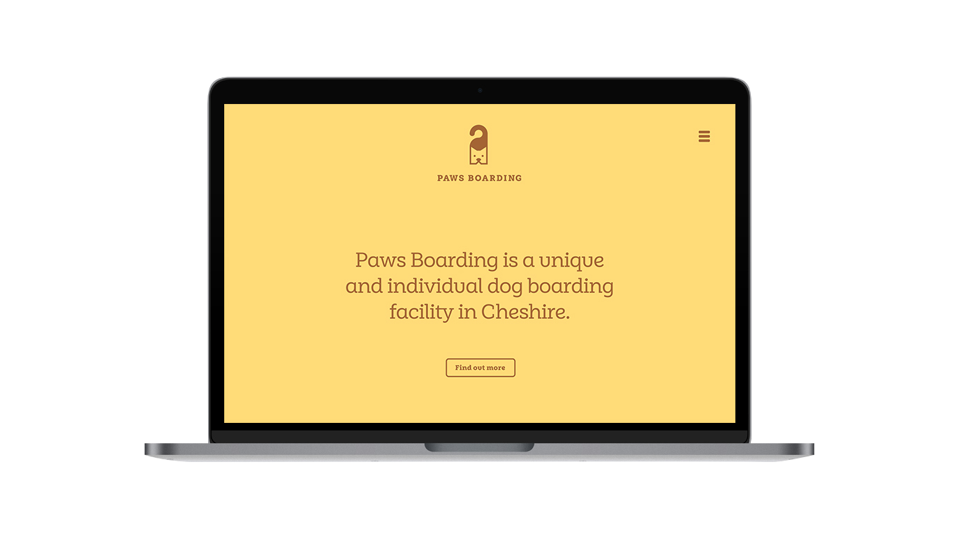 Paws Boarding Website