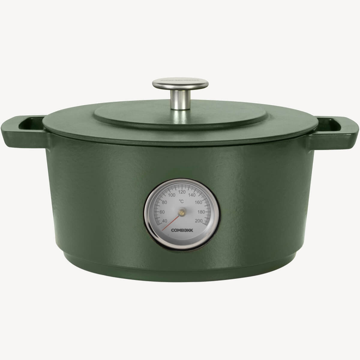 Dutch Oven Thermometer Green 24CM