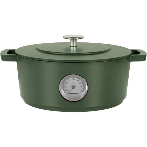 Dutch Oven Thermometer Green 28CM