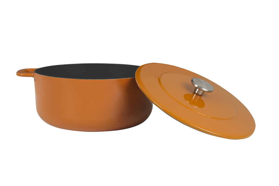 Sous-Chef Dutch Oven Orange 24 CM