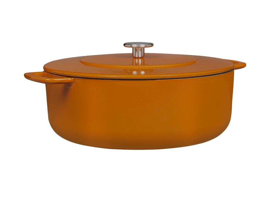 Sous-Chef Dutch Oven Orange 28 CM