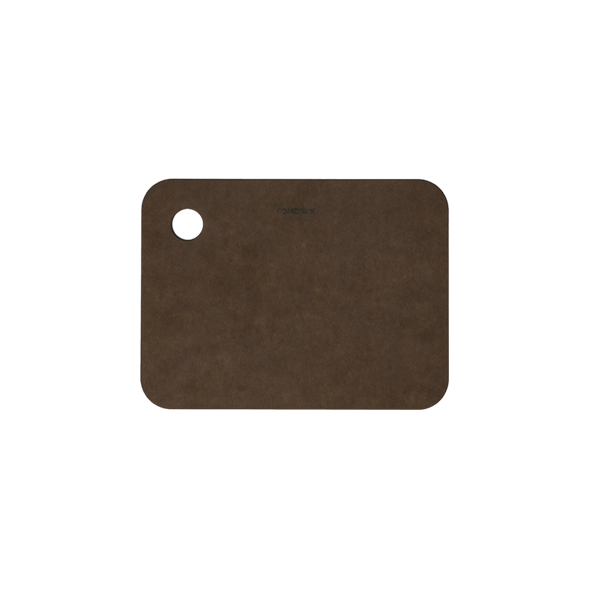 Recycled paper cutting board brown 15 x 20