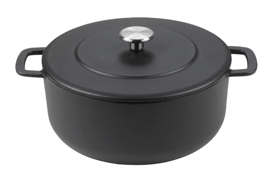 Sous-Chef Dutch Oven Black 24 CM