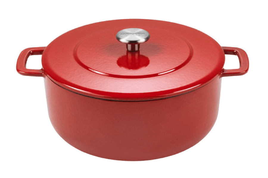 Sous-Chef Dutch Oven Red 24