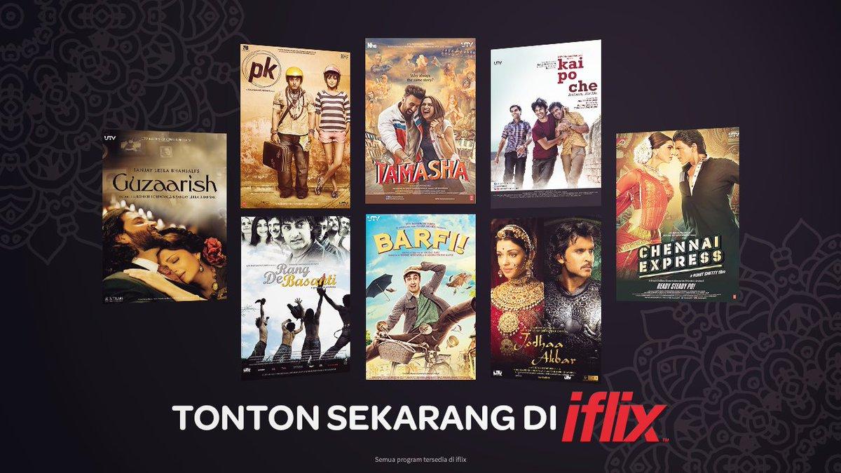 Publicité pour les derniers films disponibles sur Iflix