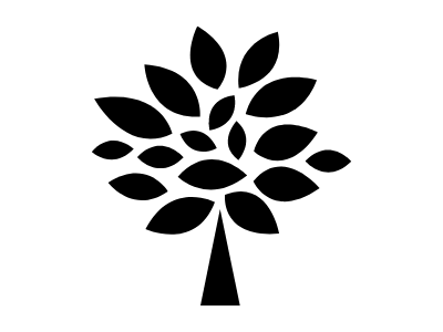 The Grahams Consultants logo tree in monochrome