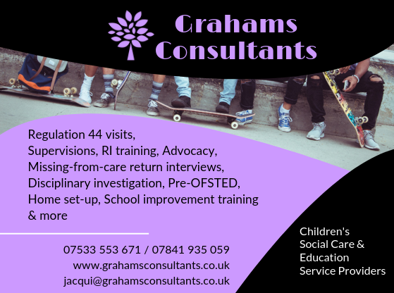 Print advert 1 for Grahams Consultants