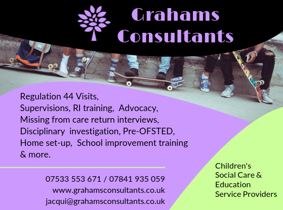 Print advert 2 for Grahams Consultants