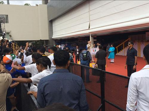 Prime Minister Modi Inaugurates The Worlds First StadiArena