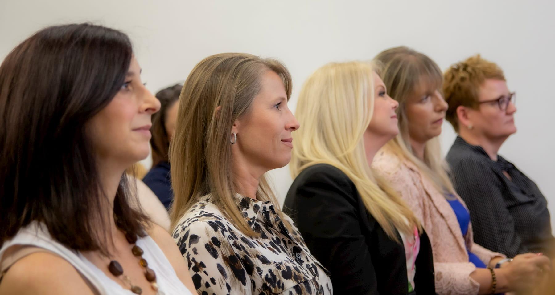 women watching everywoman panel