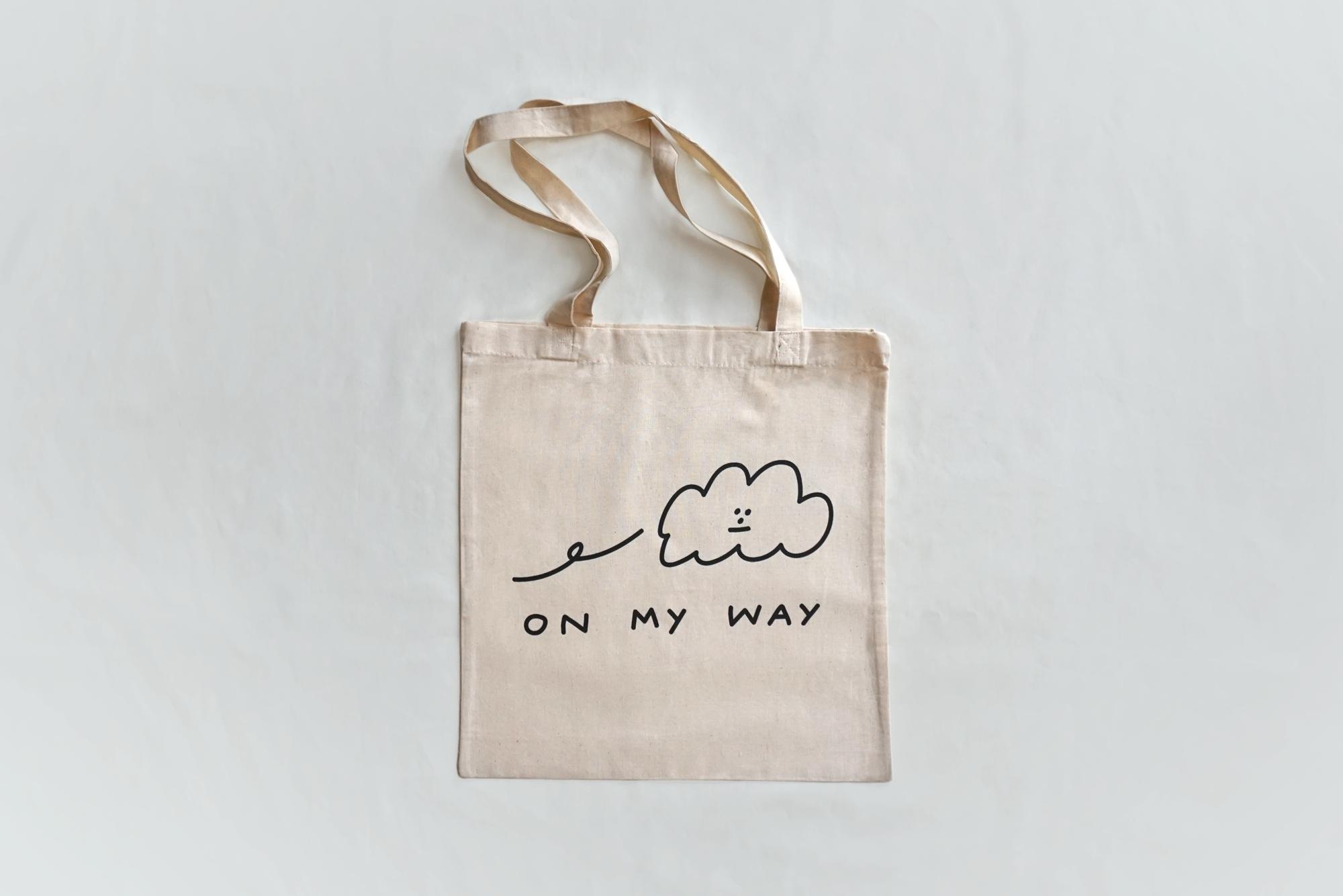 'On My Way' Tote Bag