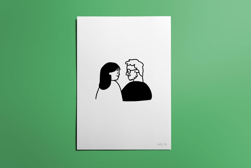 Valentine's Custom Portrait Commission