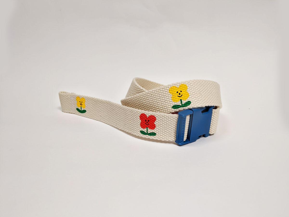 Hand-Painted Clip Belt