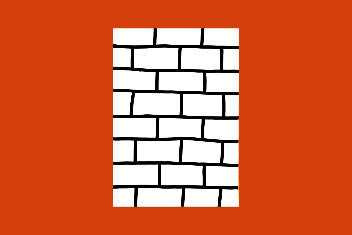 'Bricks' Risograph Print
