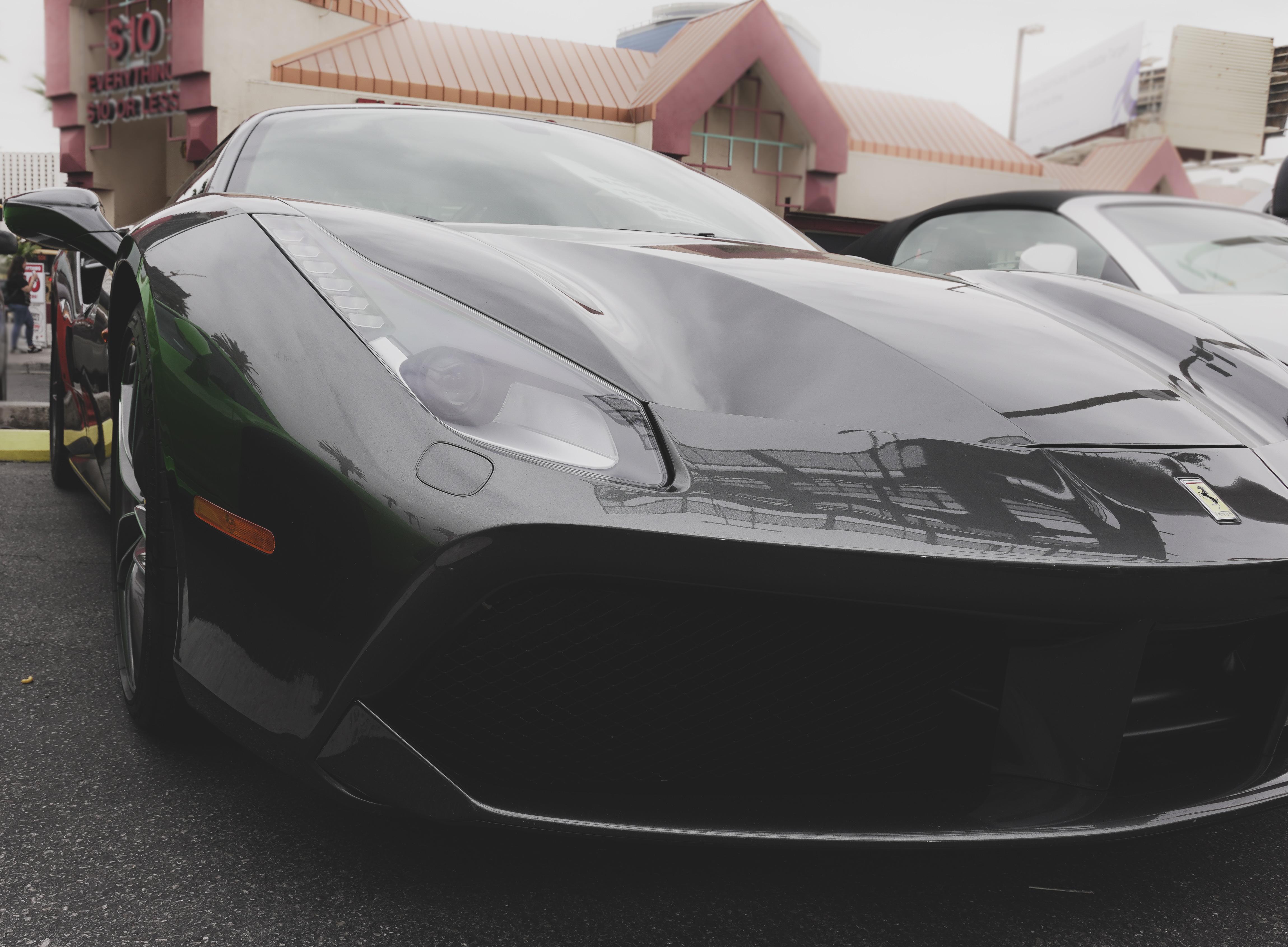 black-Ferrari-las-vegas