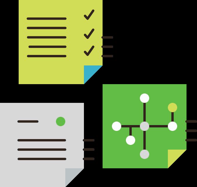 Project Design & Planning Illustration
